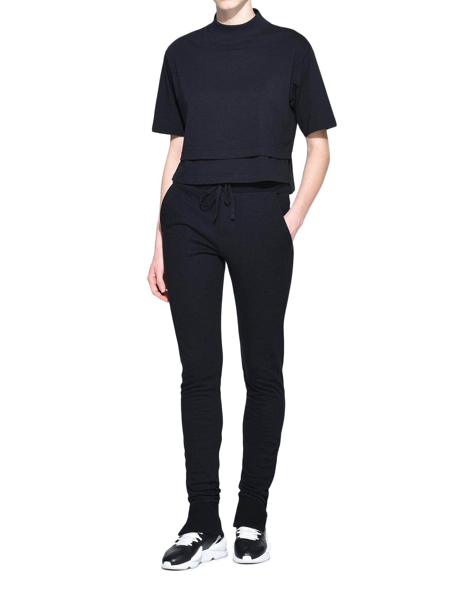 Y-3 Y-3 Fleece Slim Pants Hose Damen a