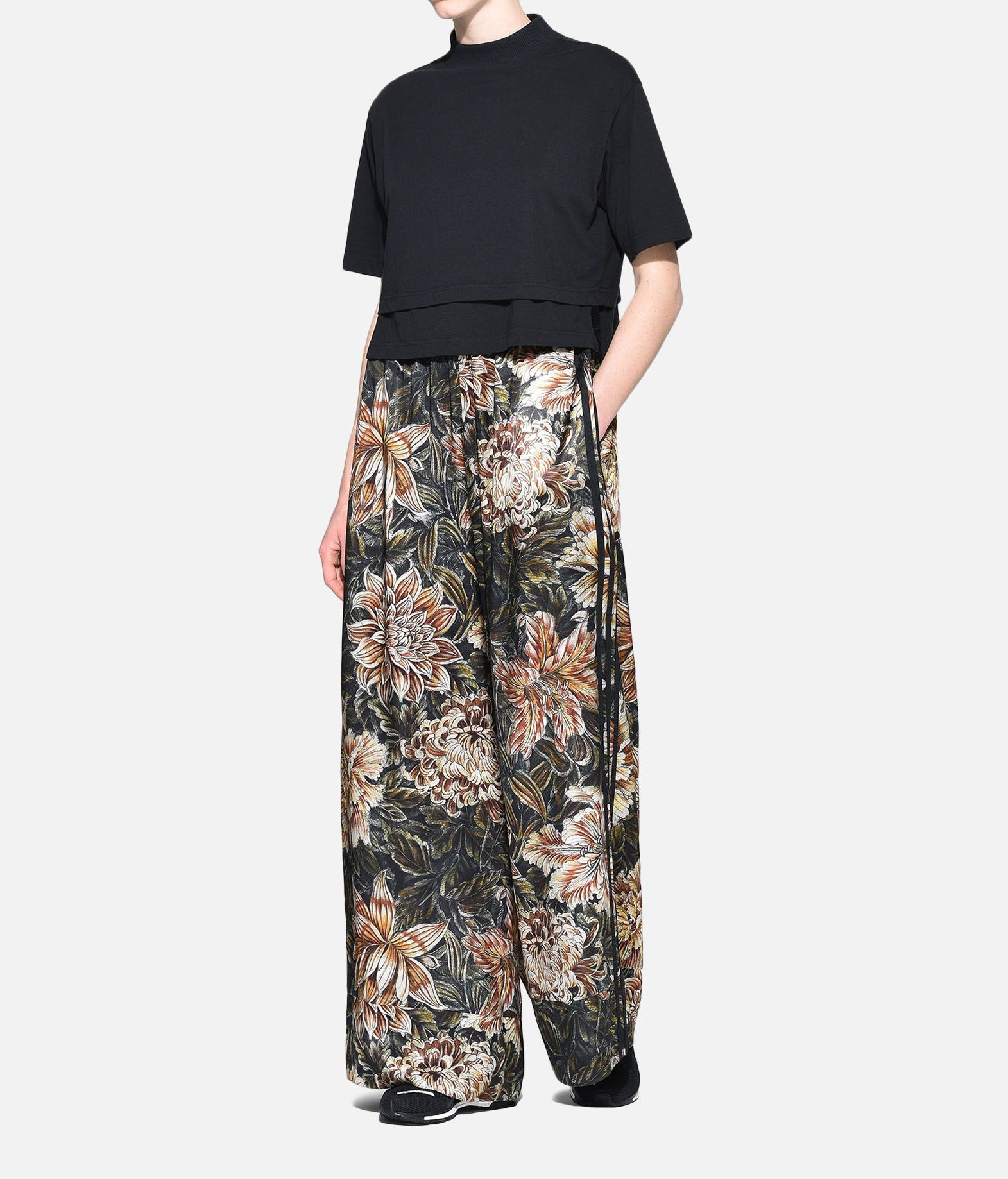 Y-3 Y-3 AOP 3-Stripes Lux Wide Track Pants Casual trouser Woman a