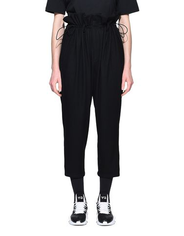 Y-3 High Waist Wool Pants PANTS woman Y-3 adidas