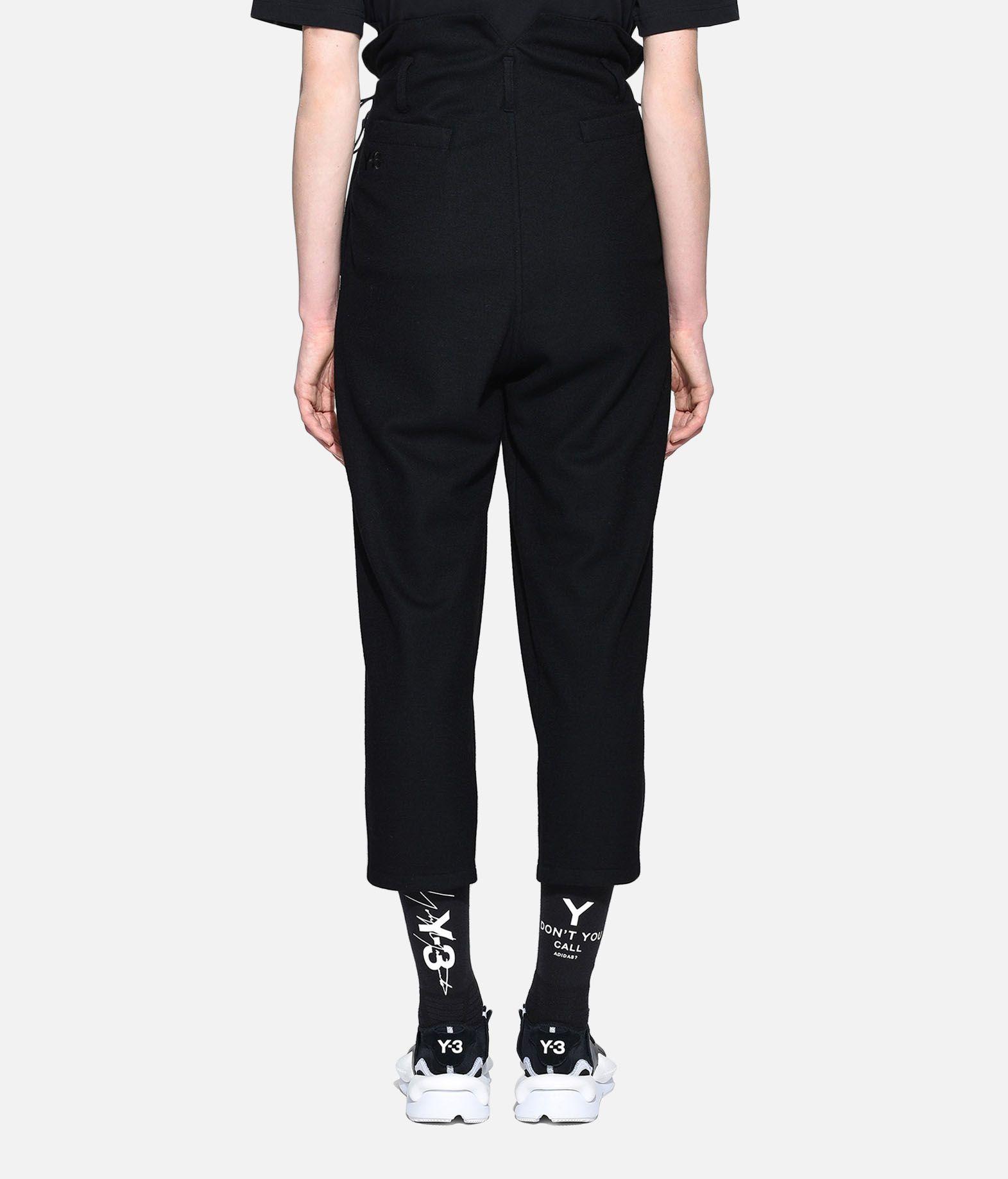 Y-3 Y-3 High Waist Wool Pants Casual pants Woman d