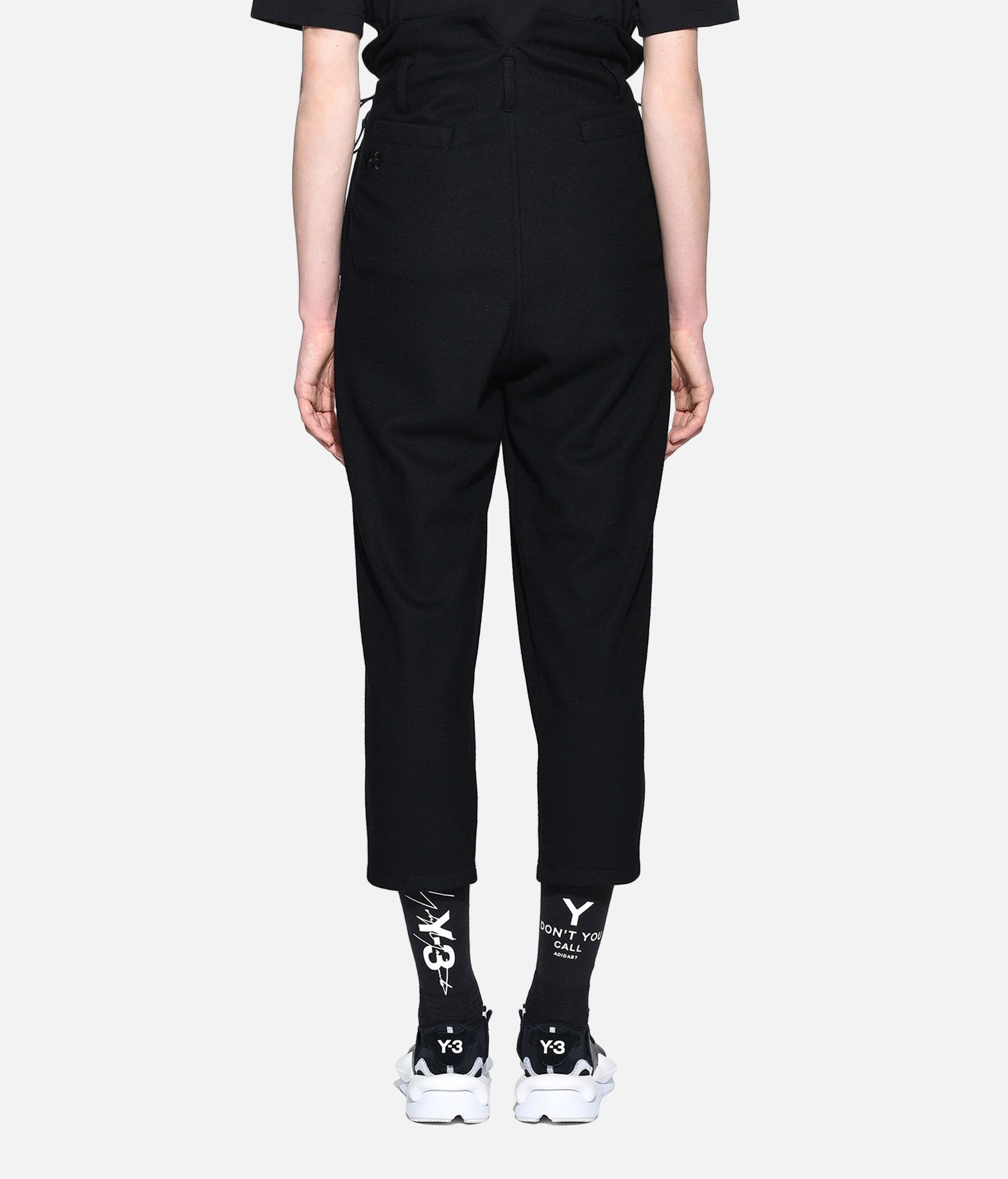 Y-3 Y-3 High Waist Wool Pants Casual trouser Woman d