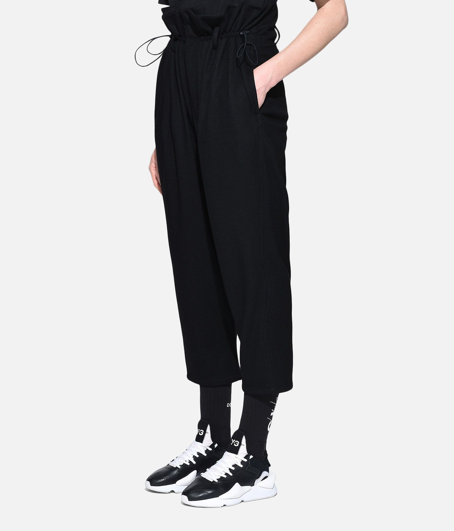 Y-3 Y-3 High Waist Wool Pants Casual trouser Woman e