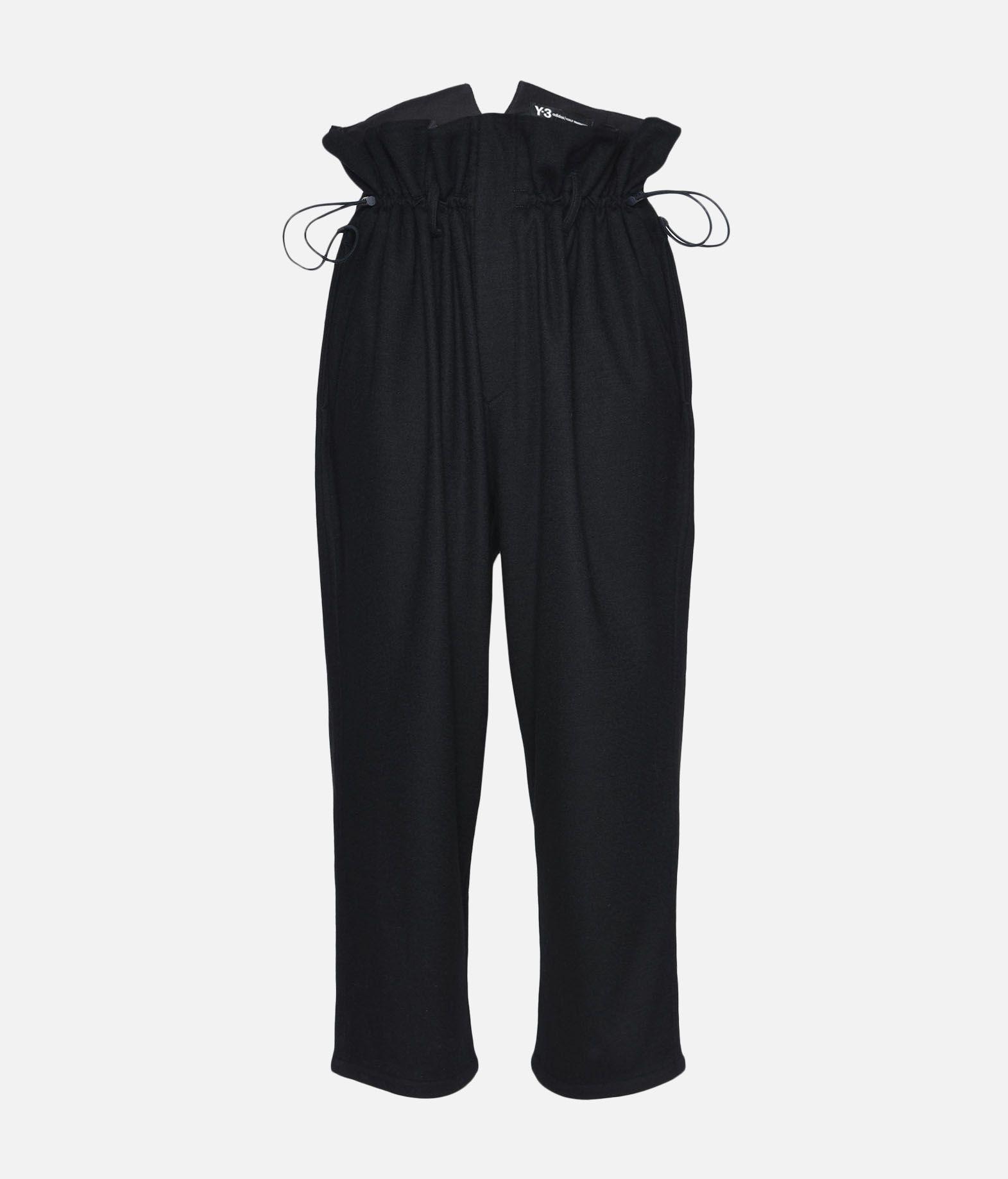 Y-3 Y-3 High Waist Wool Pants Casual trouser Woman f