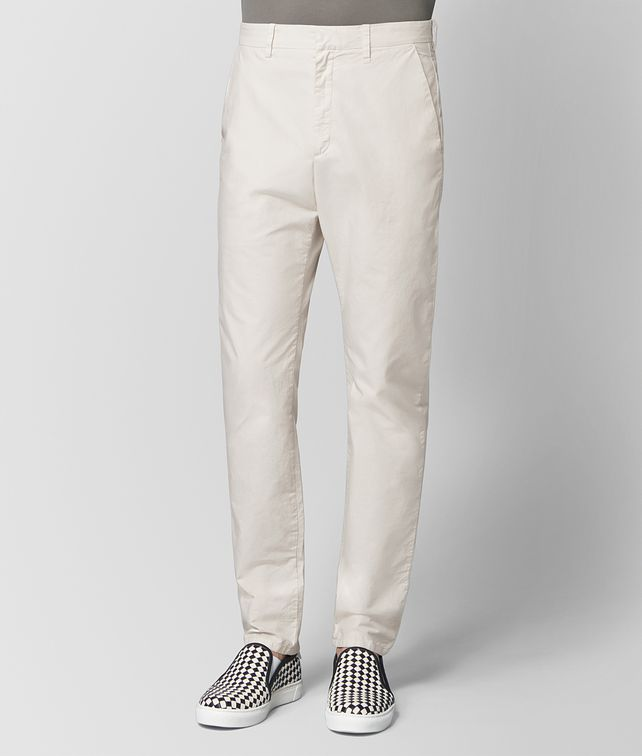 BOTTEGA VENETA MIST COTTON PANT Trousers and Shorts [*** pickupInStoreShippingNotGuaranteed_info ***] fp