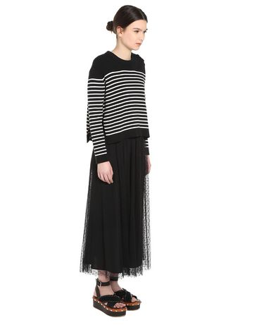 REDValentino PR0RA2751GK 0NO Skirt Woman d