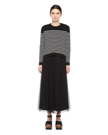 REDValentino PR0RA2751GK 0NO Skirt Woman f