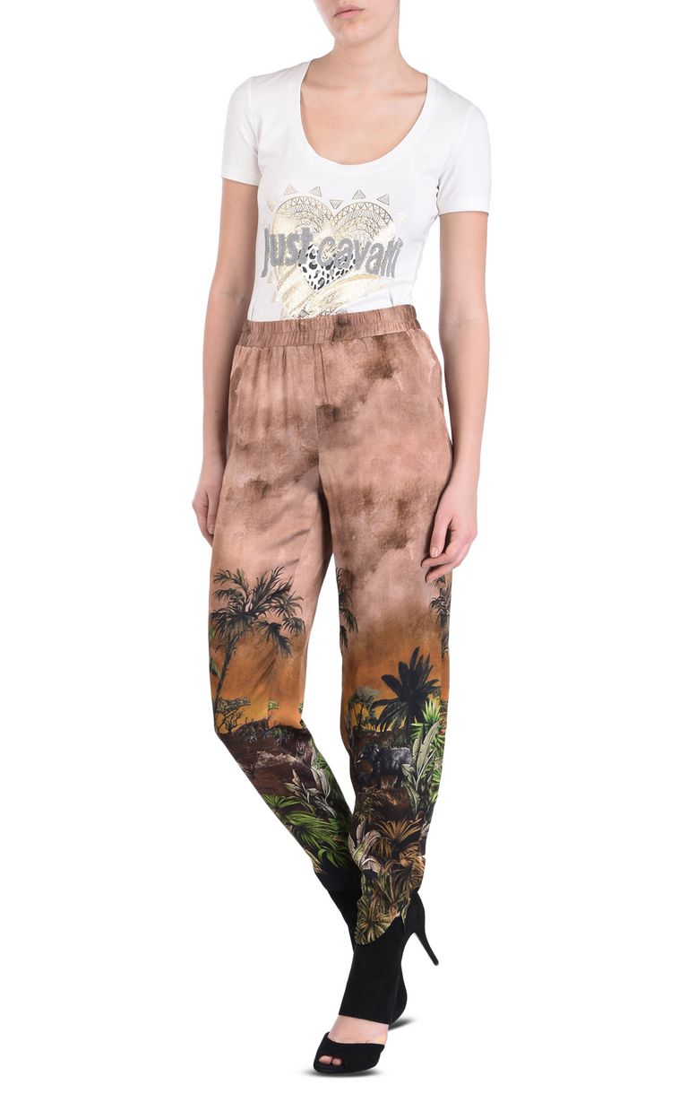 JUST CAVALLI Congo long trousers Casual pants [*** pickupInStoreShipping_info ***] r