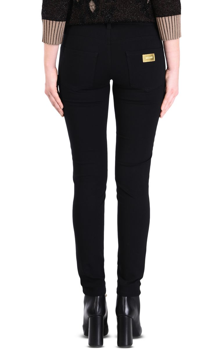 JUST CAVALLI Women's semi-sheen trousers Casual pants [*** pickupInStoreShipping_info ***] d