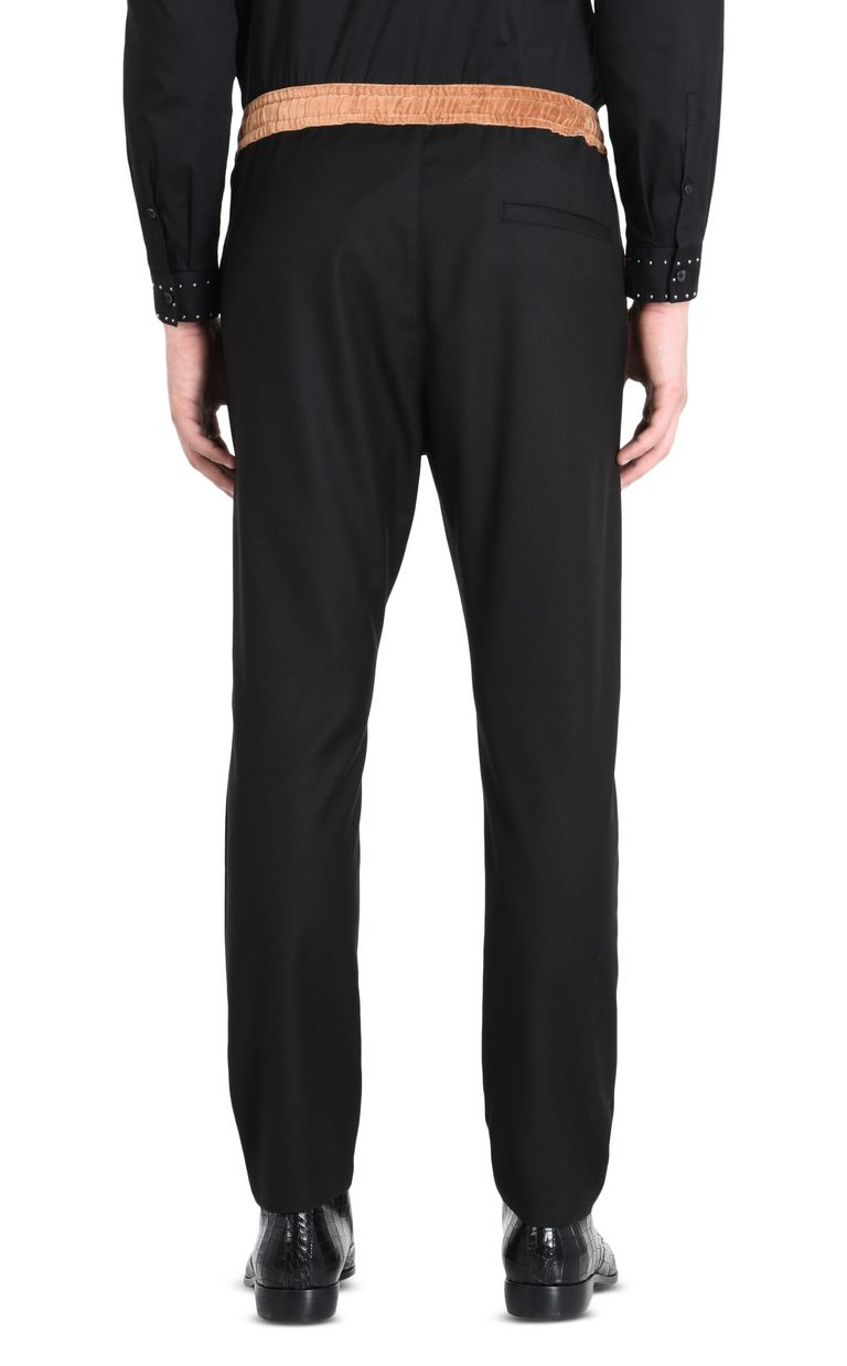 JUST CAVALLI Trousers with drawstring Casual pants Man d