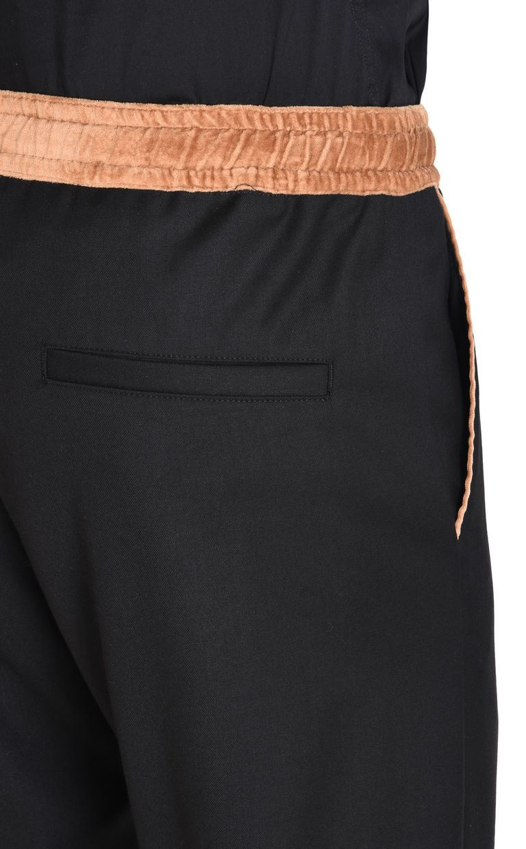 JUST CAVALLI Trousers with drawstring Casual pants Man e