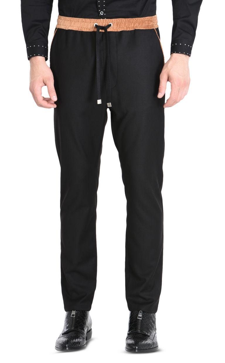 JUST CAVALLI Trousers with drawstring Casual pants Man f