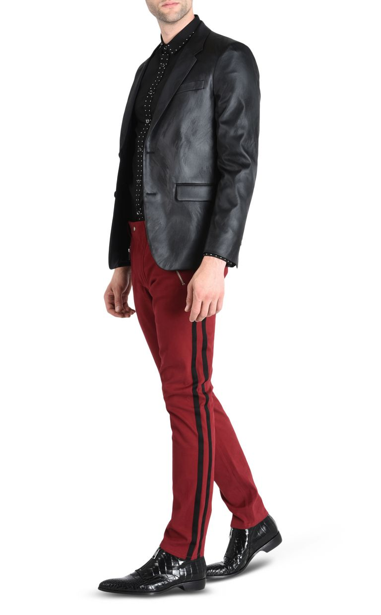 JUST CAVALLI Trousers with contrast stripes Casual pants Man r