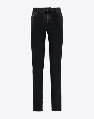MAISON MARGIELA Dark wash slim fit jeans  Jeans Woman f
