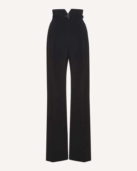 REDValentino Pants Woman QR3RB1A02EU 0NO a