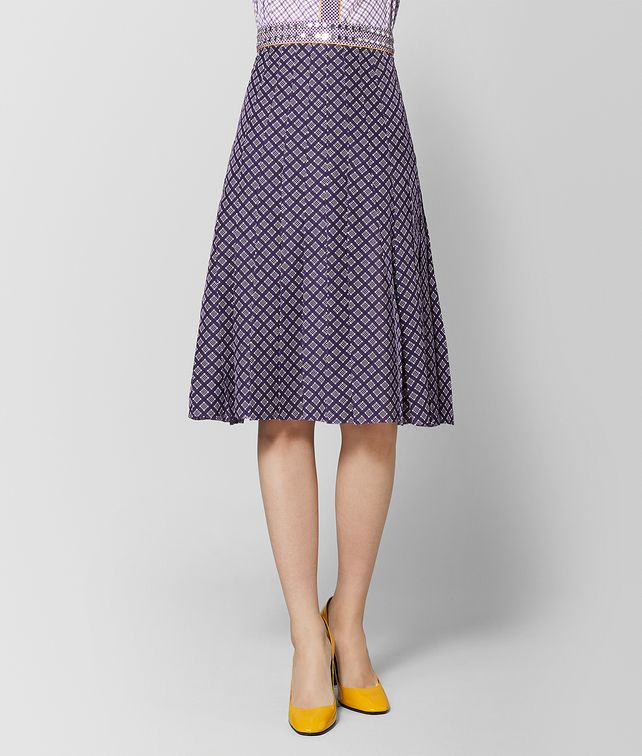 BOTTEGA VENETA MONALISA SILK SKIRT Skirt or trouser Woman fp