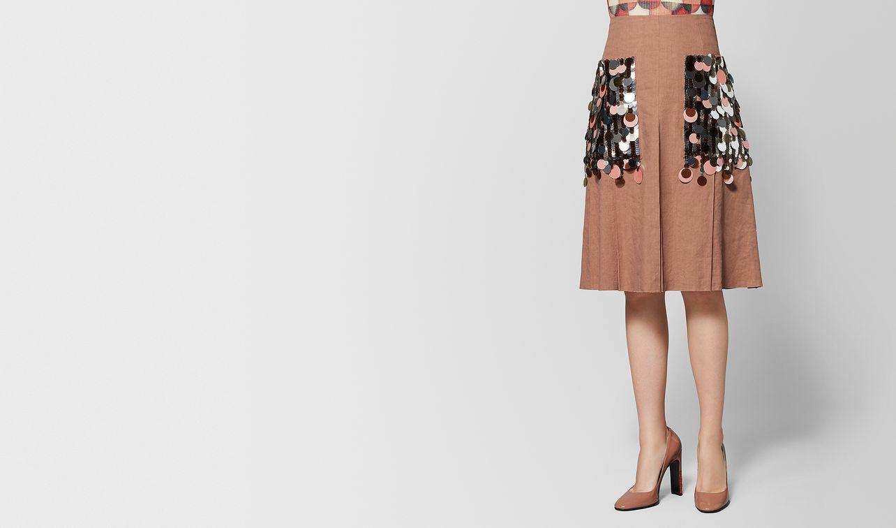 dahlia linen skirt landing