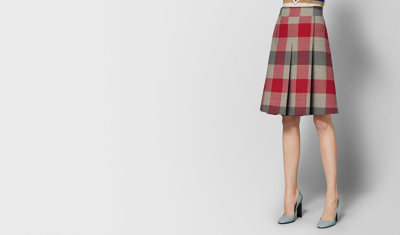 multicolor wool skirt landing