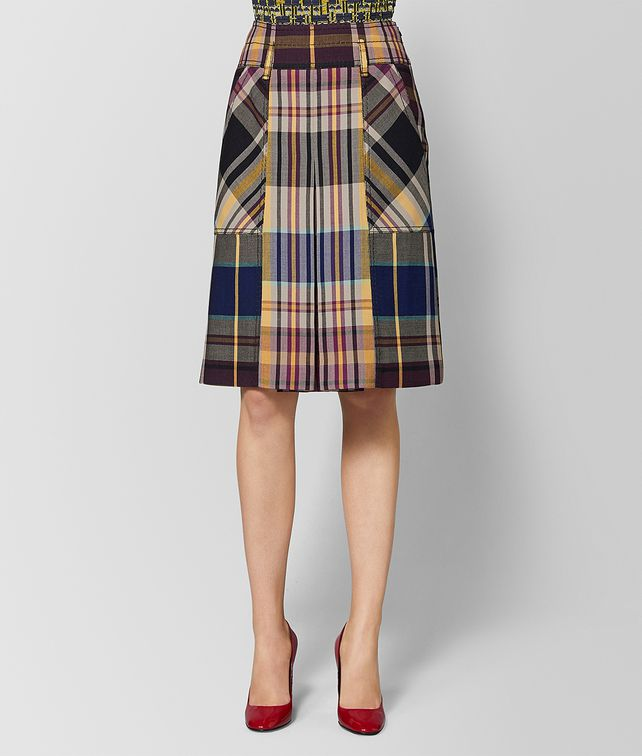 BOTTEGA VENETA MULTICOLOR WOOL SKIRT Skirt or trouser [*** pickupInStoreShipping_info ***] fp