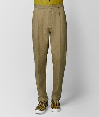 LIGHT CHAMOMILE COTTON PANT