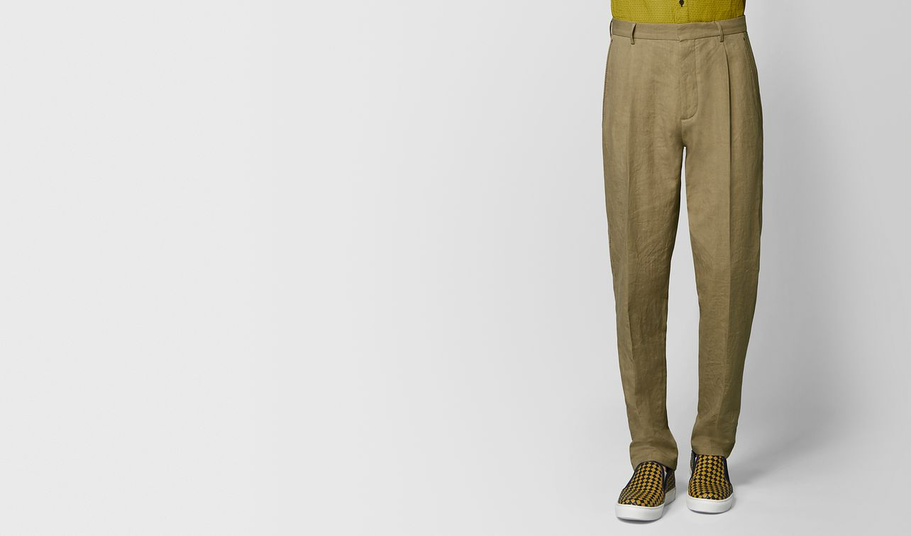 light chamomile cotton pant landing