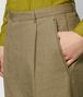 light chamomile cotton pant Front Detail Portrait