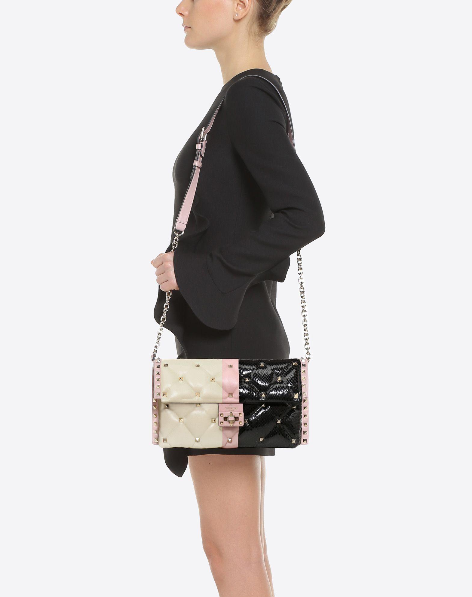 VALENTINO GARAVANI Candystud Cross-body Bag CROSS BODY BAG D a