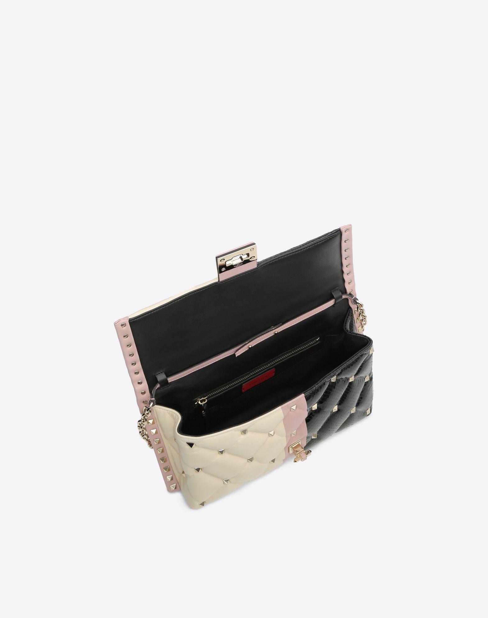 VALENTINO GARAVANI Candystud Cross-body Bag CROSS BODY BAG D e