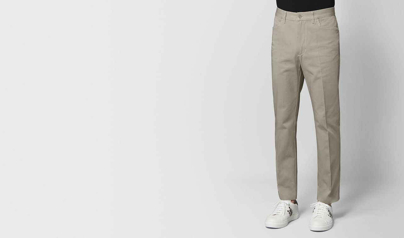 dark cement cotton pant landing