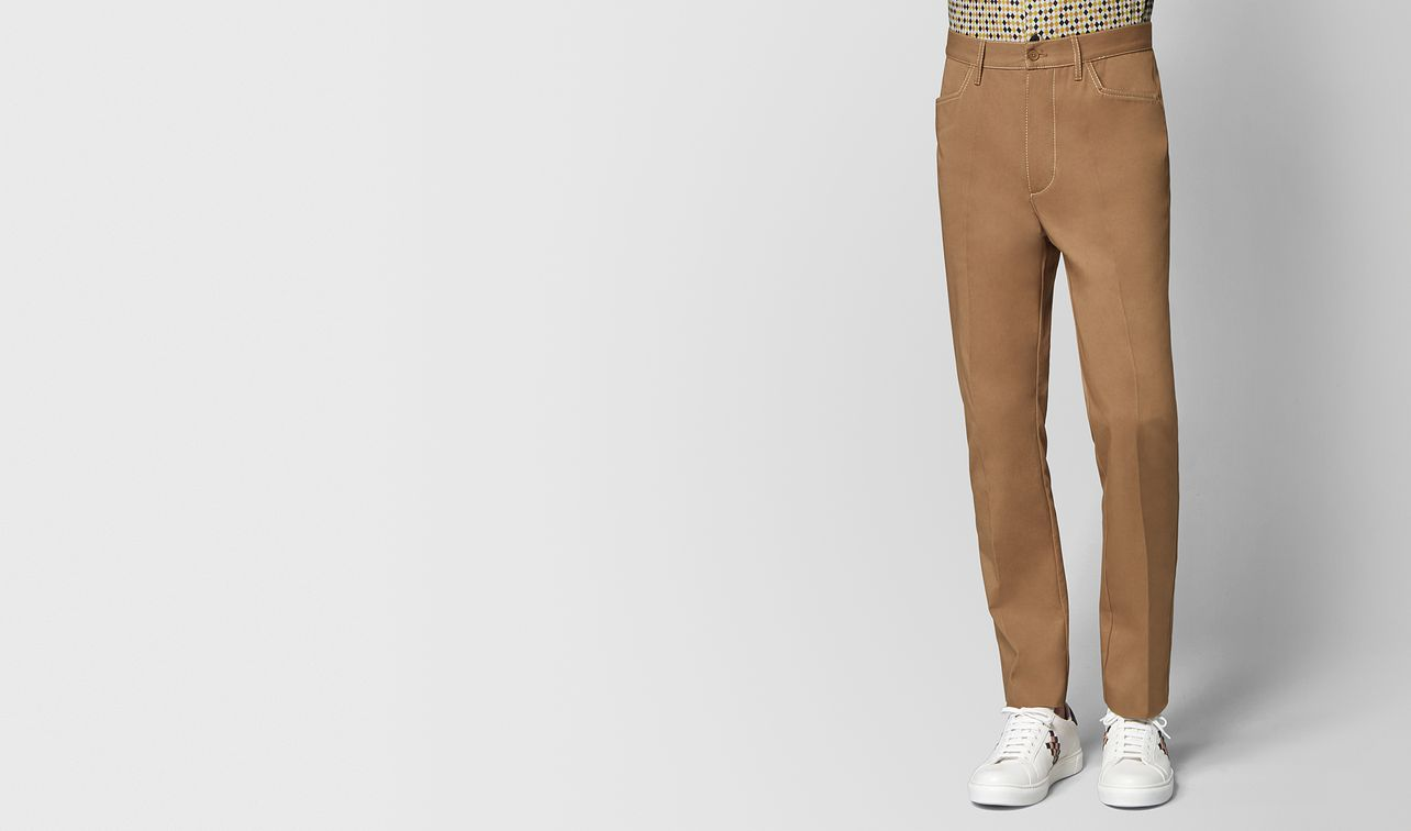 camel cotton pant landing