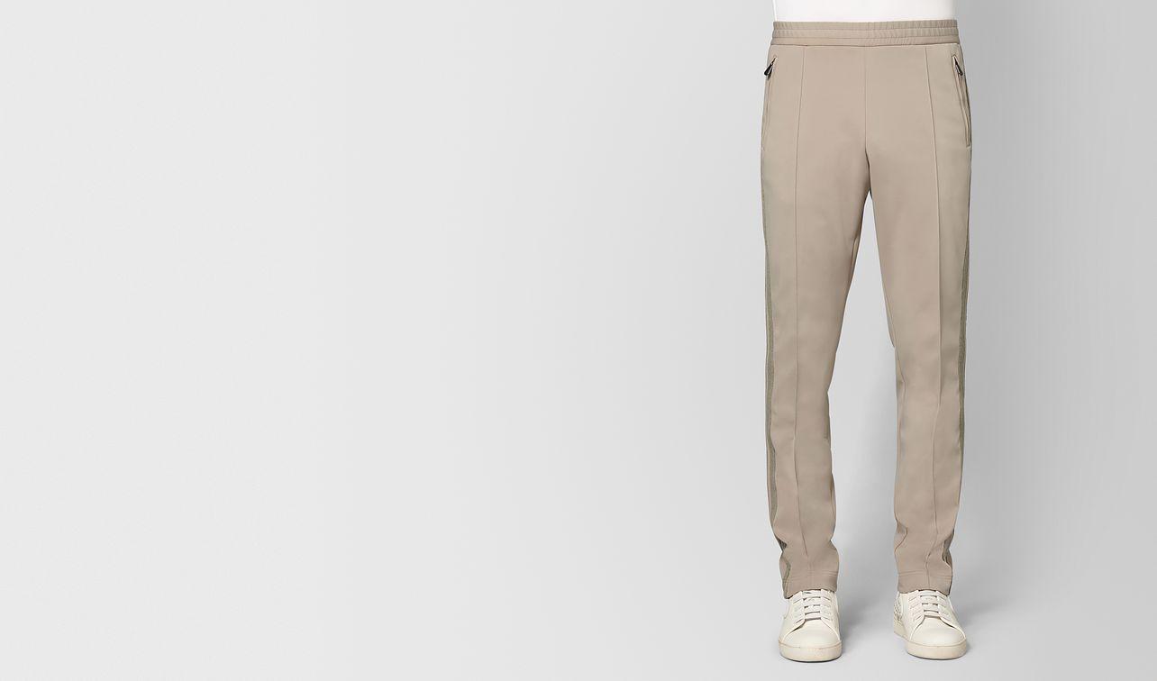 dark cement polyester pant landing