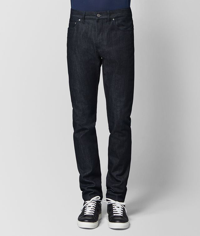 BOTTEGA VENETA DARK NAVY DENIM PANT Trouser or jeans Man fp