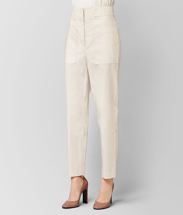 BOTTEGA VENETA MIST COTTON PANT  Skirt or trouser [*** pickupInStoreShipping_info ***] fp