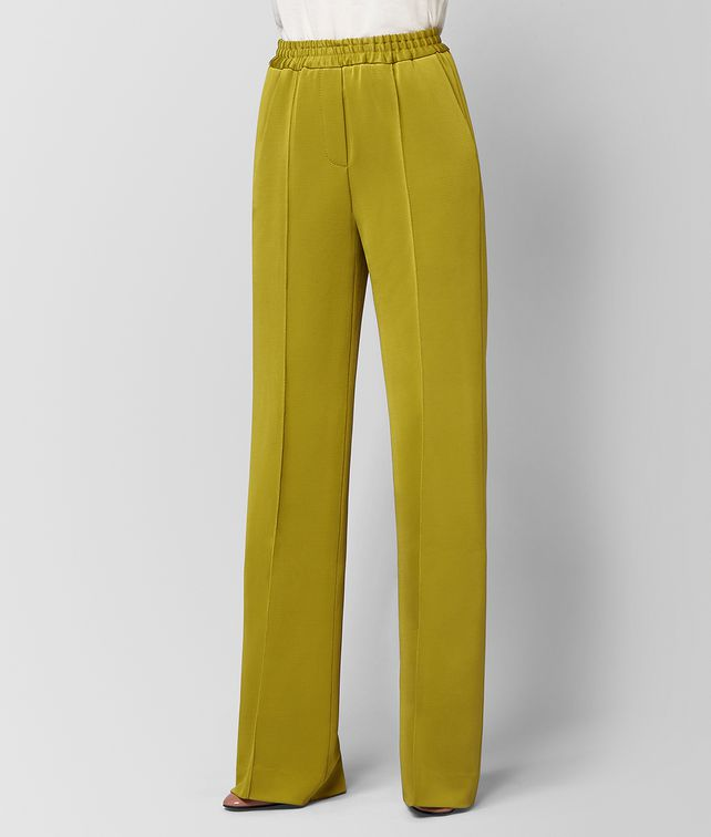 BOTTEGA VENETA CHAMOMILE VISCOSE PANT  Skirt or trouser Woman fp