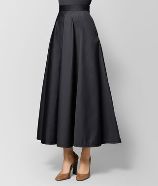 NERO COTTON SKIRT