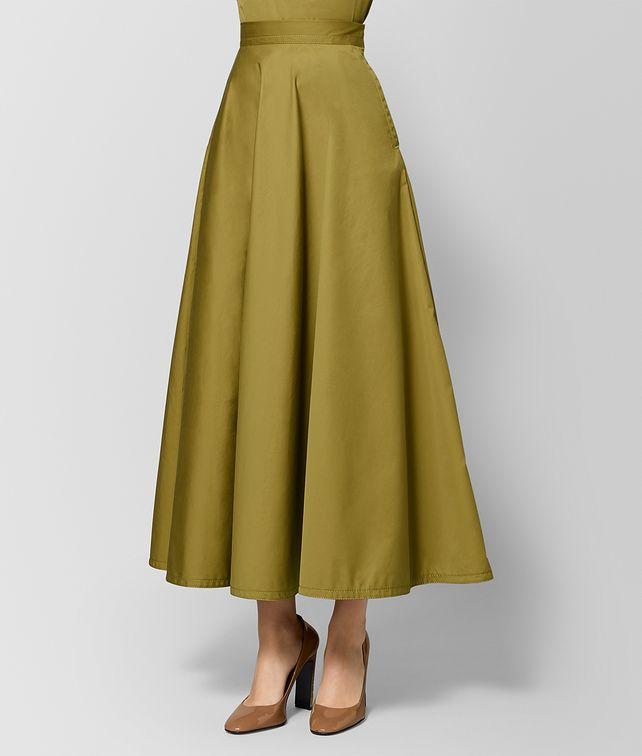 BOTTEGA VENETA CHAMOMILE COTTON SKIRT Skirt [*** pickupInStoreShipping_info ***] fp