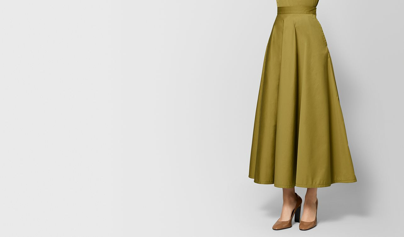 chamomile cotton skirt landing