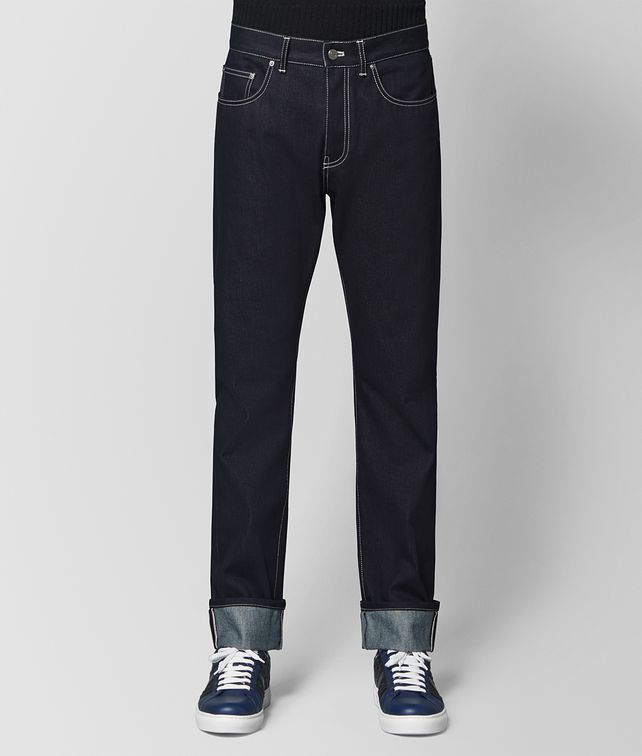 BOTTEGA VENETA DARK NAVY DENIM JEAN Jeans or Pant Man fp