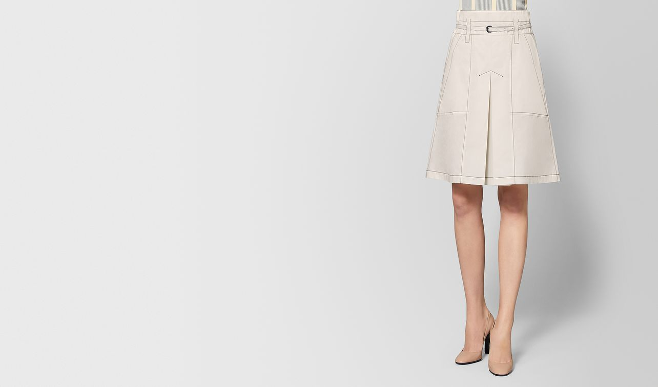 mist cotton skirt landing