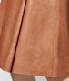 BOTTEGA VENETA DAHLIA CALF SKIRT Skirt or trouser Woman ep
