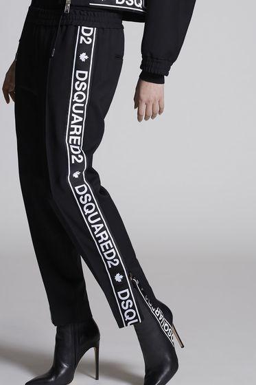 DSQUARED2 裤装 女士 S75KA0897S36258900 b