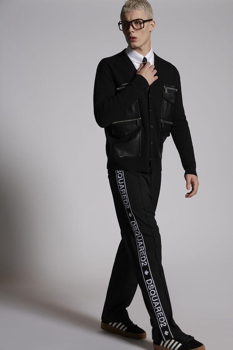 DSQUARED2 Wool Cady Gym Pants Pantalon Homme