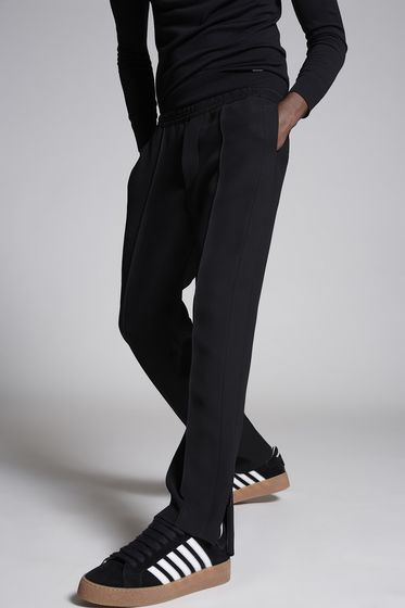 DSQUARED2 Wool Cady Run Dan Pants Trousers Man