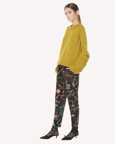 REDValentino QR3RB1B03T4 0NO Trousers Woman d
