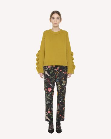 REDValentino QR3RB1B03T4 0NO Trousers Woman f