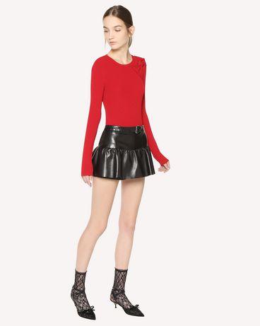 REDValentino QR3NH01D3V7 0NO Shorts Woman d