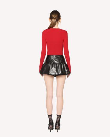 REDValentino QR3NH01D3V7 0NO Shorts Woman r