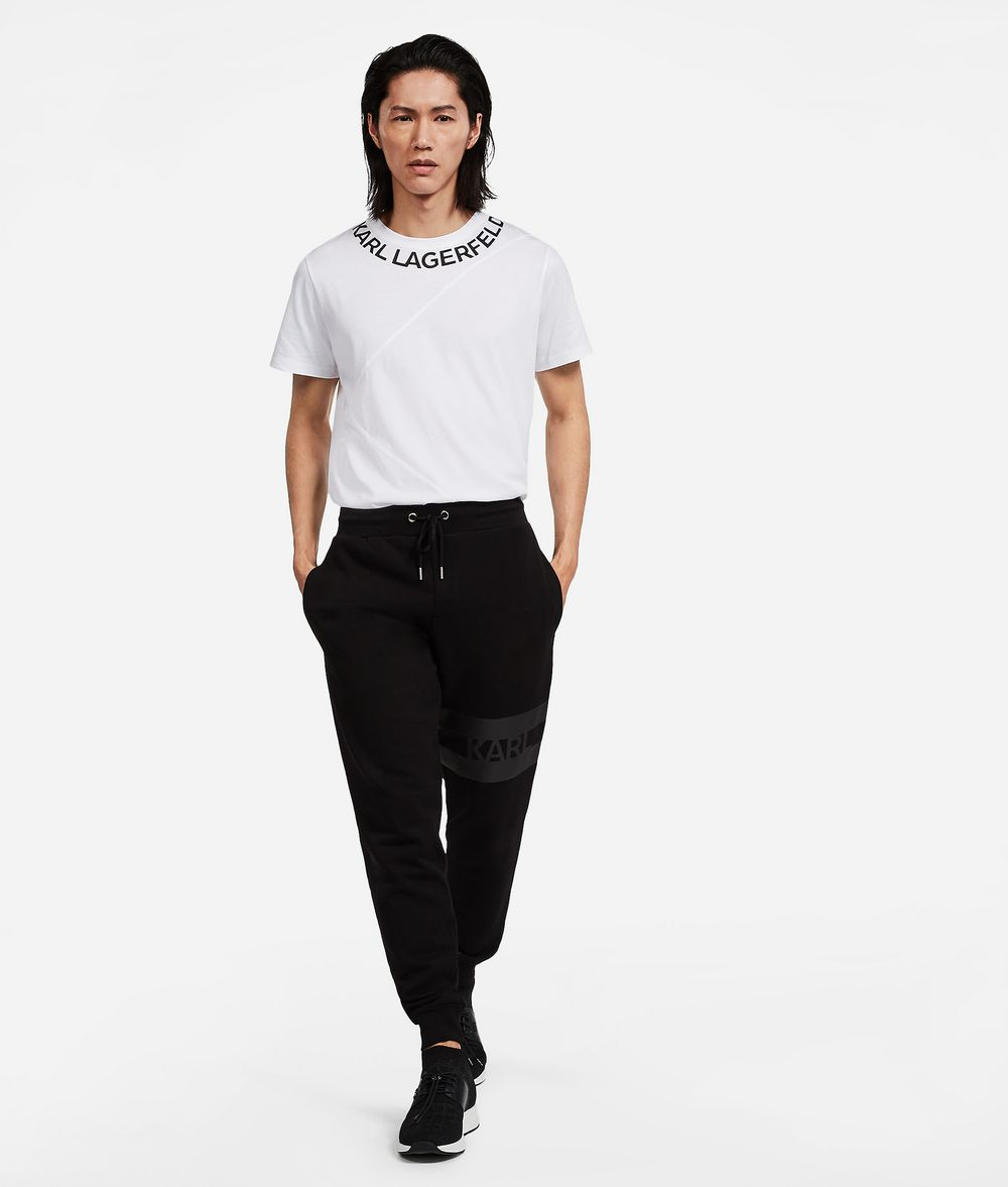 KARL LAGERFELD Logo Sweatpants Trousers Man d