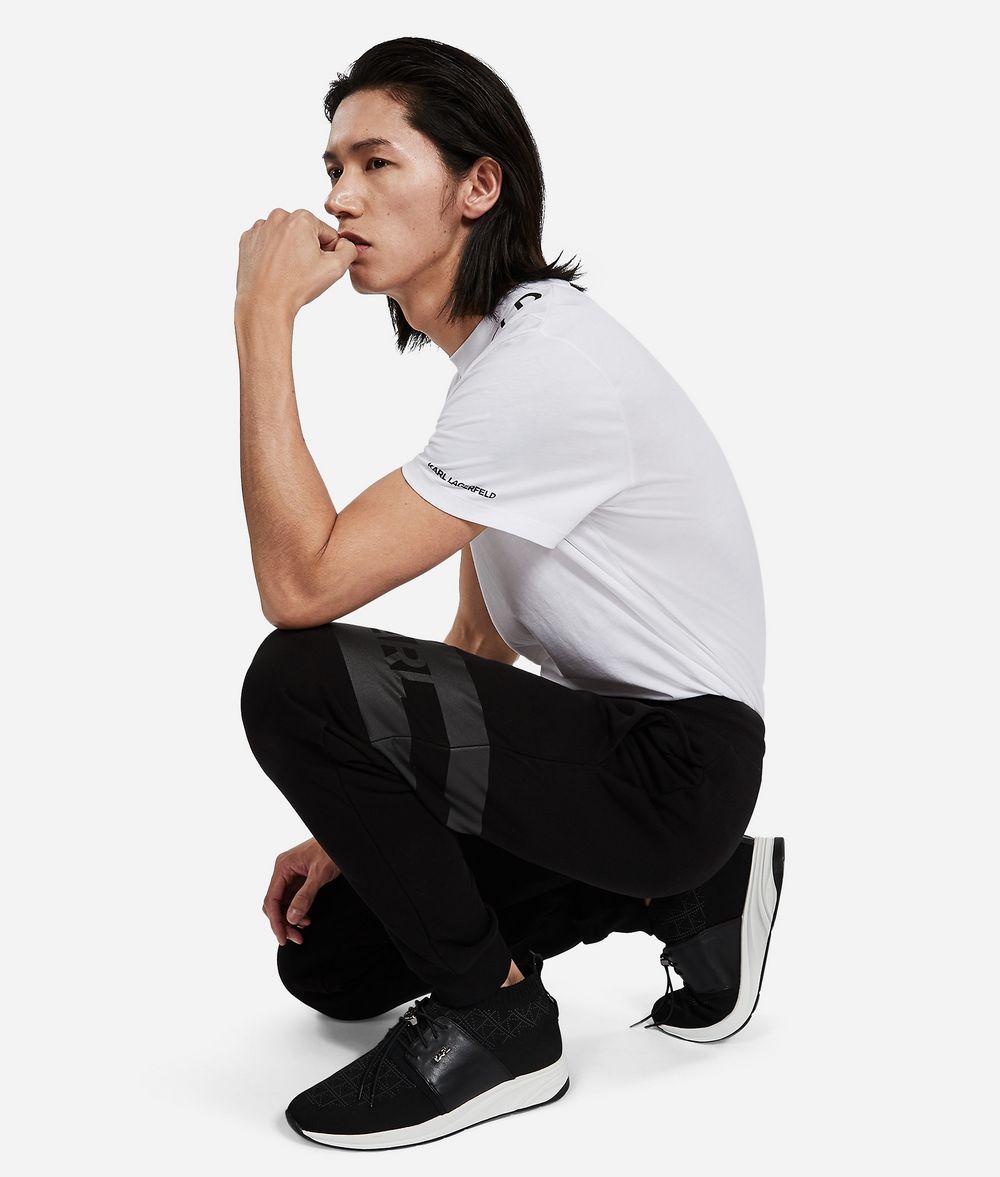 KARL LAGERFELD Logo Sweatpants Trousers Man f