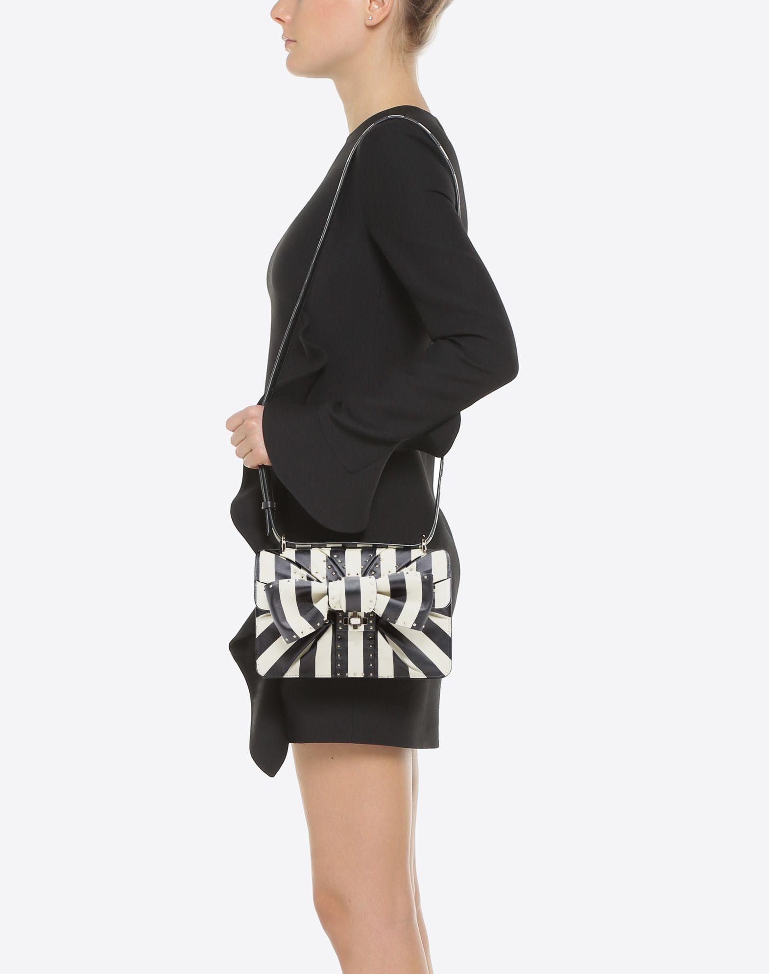 VALENTINO GARAVANI Side Bow Crossbody Bag  CROSS BODY BAG D a