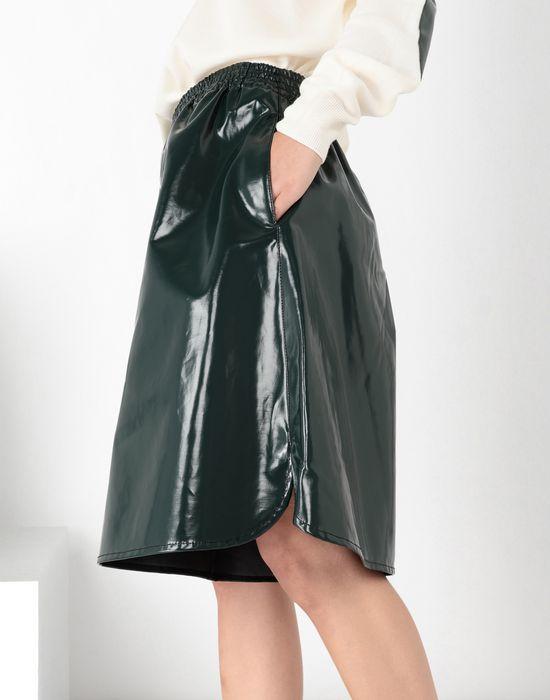 MM6 MAISON MARGIELA Coated cotton boxed short Shorts [*** pickupInStoreShipping_info ***] a